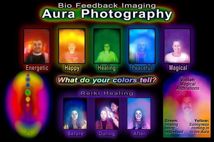 Aura and Chakra Photography